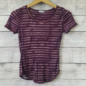 Free People Intimately Striped Tee Size X Small